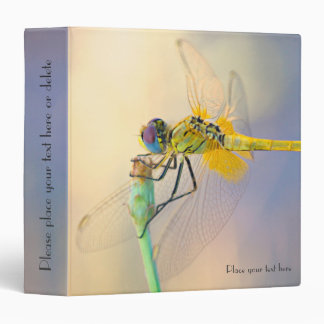 Colored Dragonfly Binders