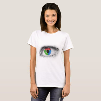 colored eye in RGB T-Shirt