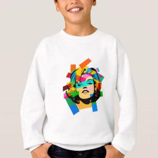 Colored Face Sweatshirt