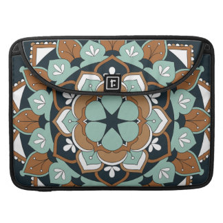 Colored Floral Mandala  060517_1 Sleeve For MacBooks
