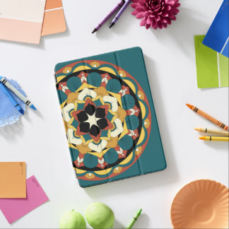 Colored Floral Mandala 060517_4 iPad Pro Cover