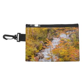 Colored Forest Landscape Scene, Patagonia Accessory Bag