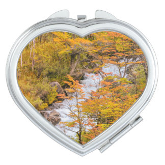 Colored Forest Landscape Scene, Patagonia Vanity Mirrors