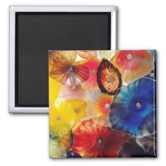 Colored Glass Magnet