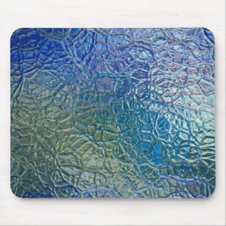 Colored glass texture, colorful shiny surface mouse pad