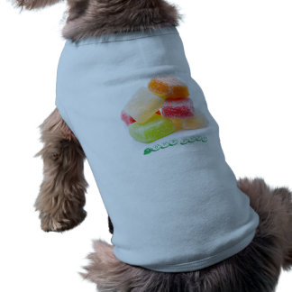 Colored Gummy Square Sweets Shirt