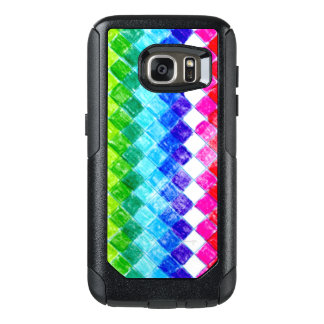 Colored in Squares OtterBox Samsung Galaxy S7 Case