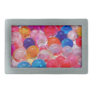 colored jelly balls texture belt buckles