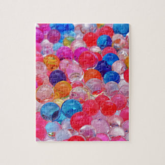 colored jelly balls texture jigsaw puzzle