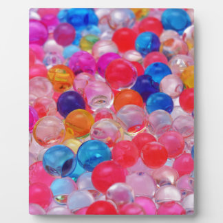 colored jelly balls texture plaque