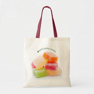 Colored Jelly Square Sweets Tote Bag