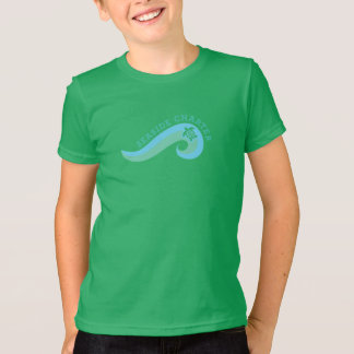 Colored Kids Shirt with 2 color logo