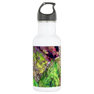 Colored Leaves Water Bottle
