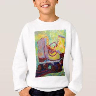 Colored Light all over my Skates Sweatshirt
