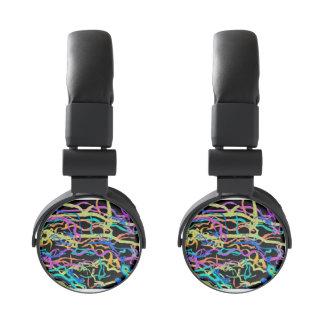 Colored Lines Headphones