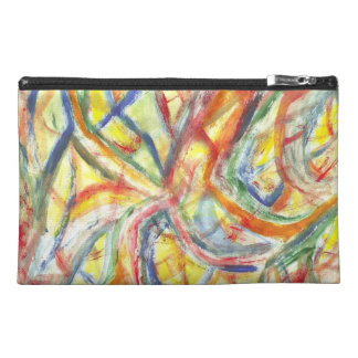 Colored Lines Travel Accessory Bag