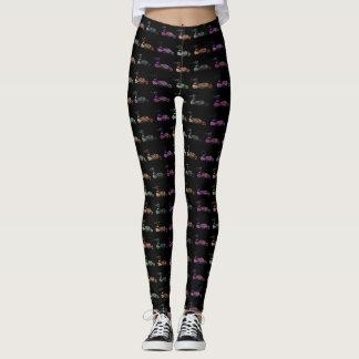 Colored Loons Pattern Leggings