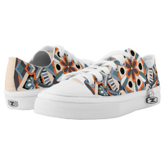 Colored Mandala 060517_3 Low-Top Sneakers
