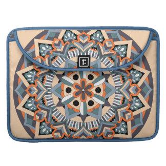 Colored Mandala 060517_3 Sleeve For MacBooks