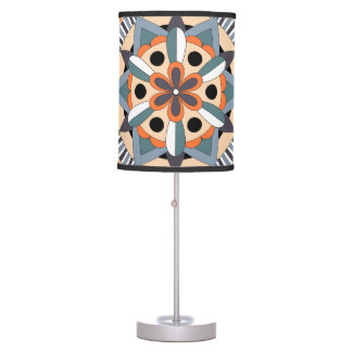 Colored Mandala 060517_3 Table Lamp