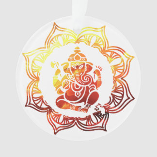 Colored Meditation Ornament