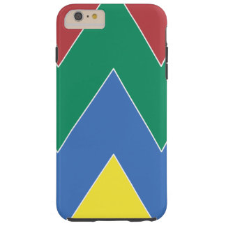 Colored mountain tough iPhone 6 plus case