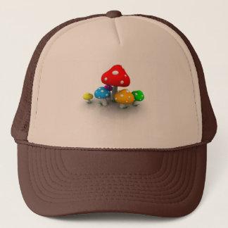 colored-mushrooms-1280x800 trucker hat
