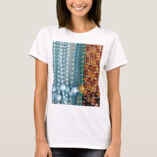 colored necklace stones T-Shirt