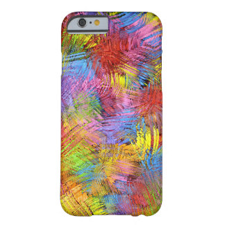 Colored Paint Splashes Barely There iPhone 6 Case