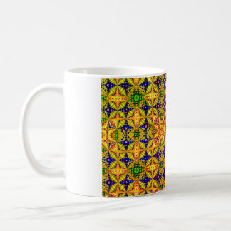 Colored  Pattern 22 Coffee Mug
