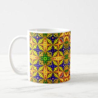 Colored  Pattern 2 Coffee Mug