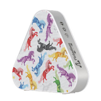 Colored Pattern jumping Horses Blueooth Speaker