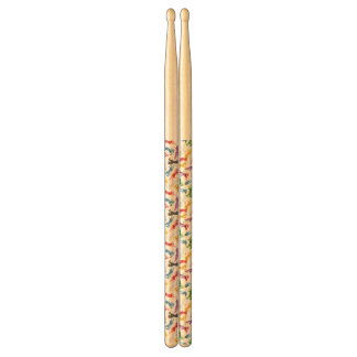 Colored Pattern jumping Horses Drumsticks