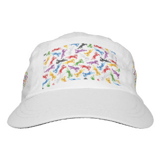 Colored Pattern jumping Horses Hat