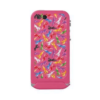 Colored Pattern jumping Horses Incipio ATLAS ID™ iPhone 5 Case