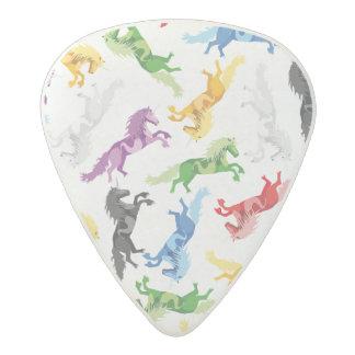 Colored Pattern Unicorn Acetal Guitar Pick