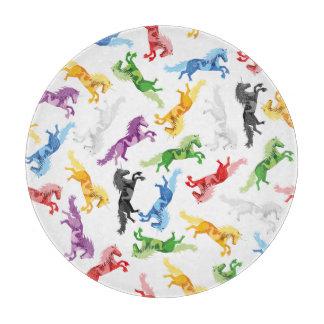 Colored Pattern Unicorn Boards