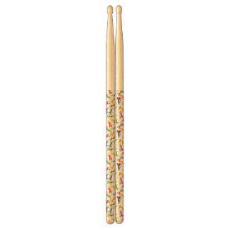 Colored Pattern Unicorn Drumsticks