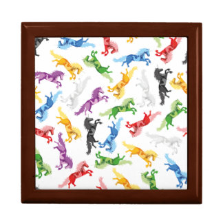Colored Pattern Unicorn Gift Box