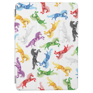Colored Pattern Unicorn iPad Air Cover