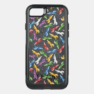 Colored Pattern Unicorn OtterBox Commuter iPhone 7 Case