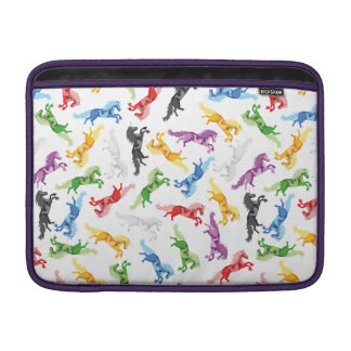 Colored Pattern Unicorn Sleeve For MacBook Air