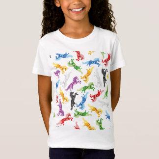 Colored Pattern Unicorn T-Shirt