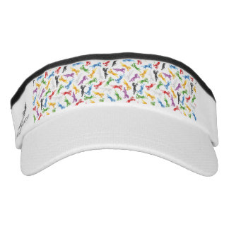 Colored Pattern Unicorn Visor