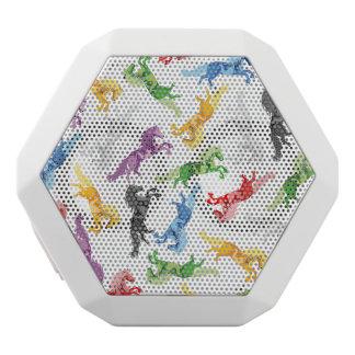Colored Pattern Unicorn White Bluetooth Speaker