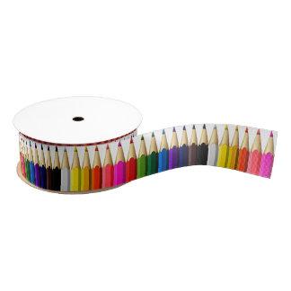 Colored Pencil Box Grosgrain Ribbon