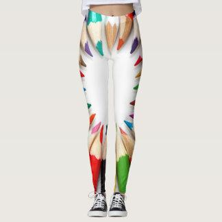 Colored Pencil Fun! Leggings