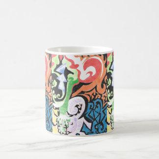 Colored Pencil Funk Coffee Mug