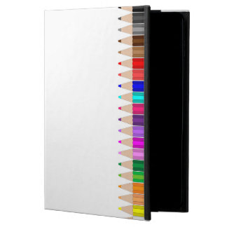Colored pencils in a row powis iPad air 2 case