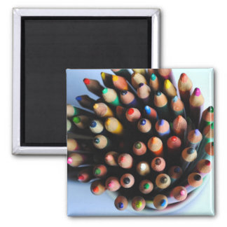 Colored Pencils Magnet